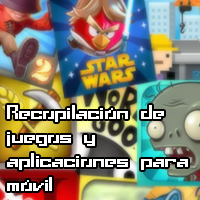 Recopilación de juegos y aplicaciones para móvil